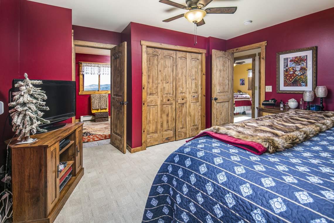 Plenty of Space in Master Bedroom!
