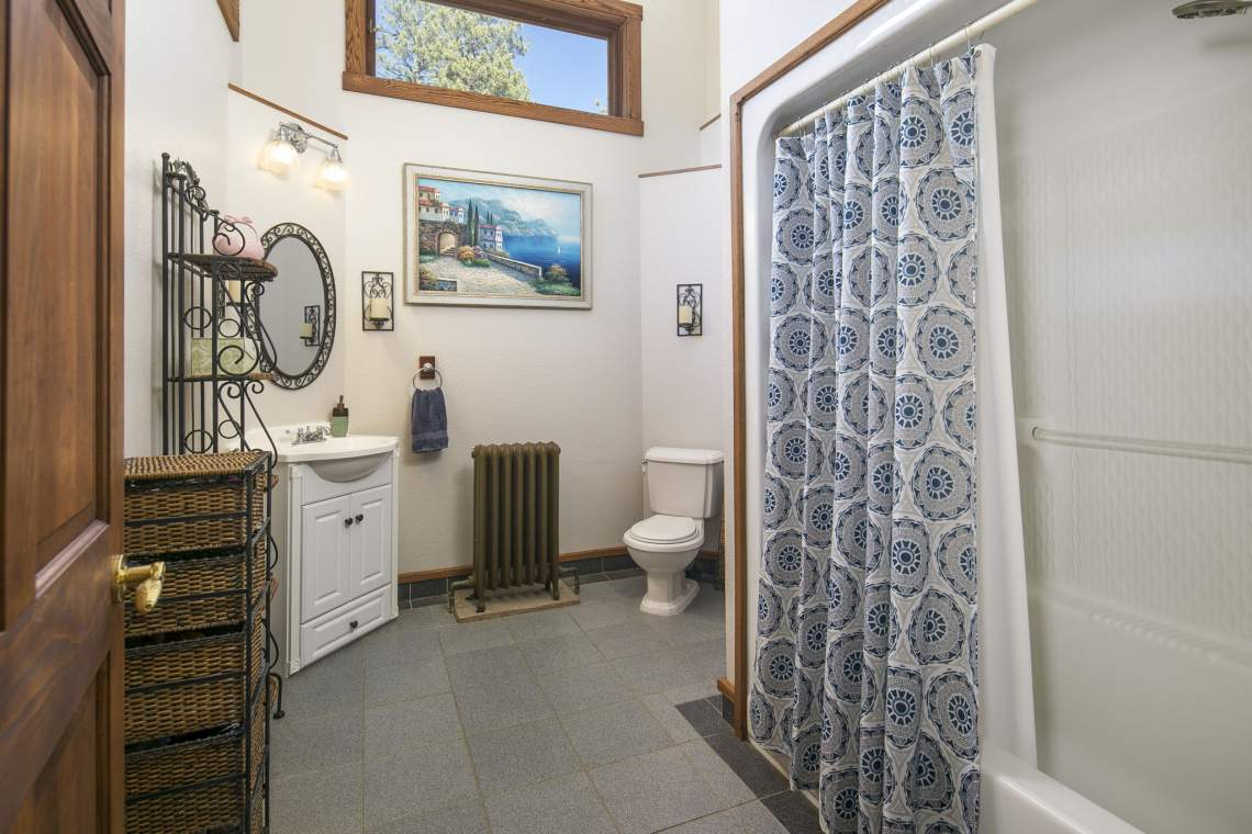 Shared Bathroom on Top Floor
