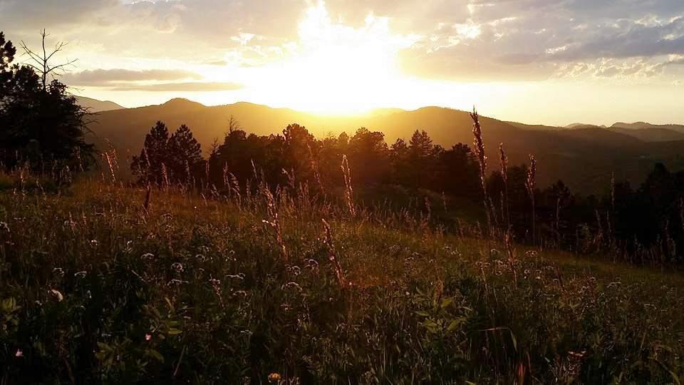 Beautiful Sunset at Redstone Canyon