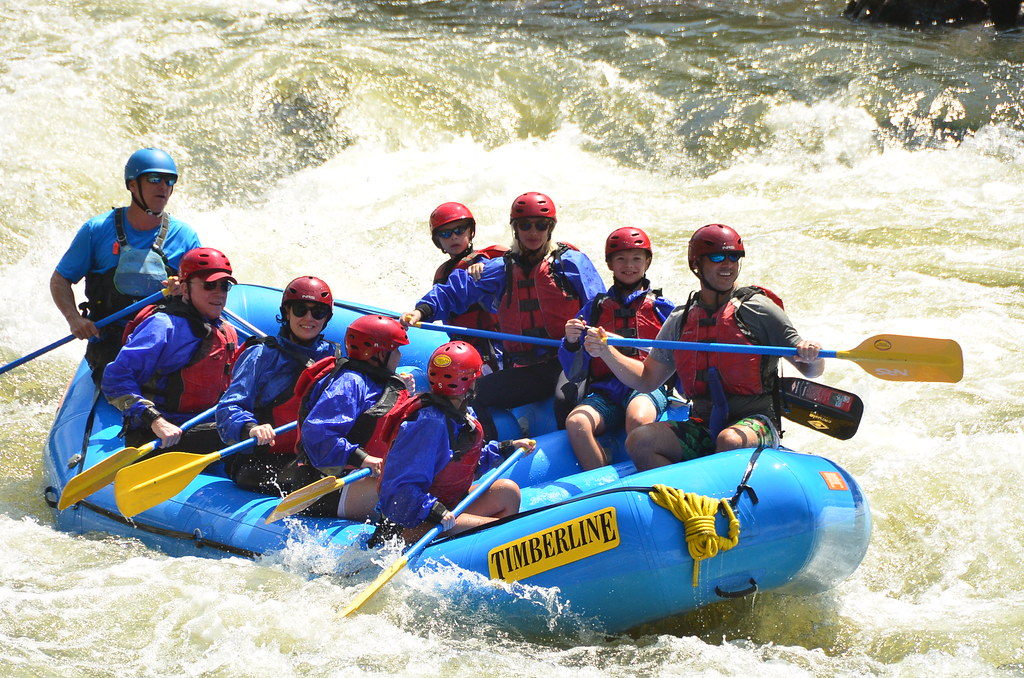 White Water Rafting on the Cache la Poudre River in Colorado