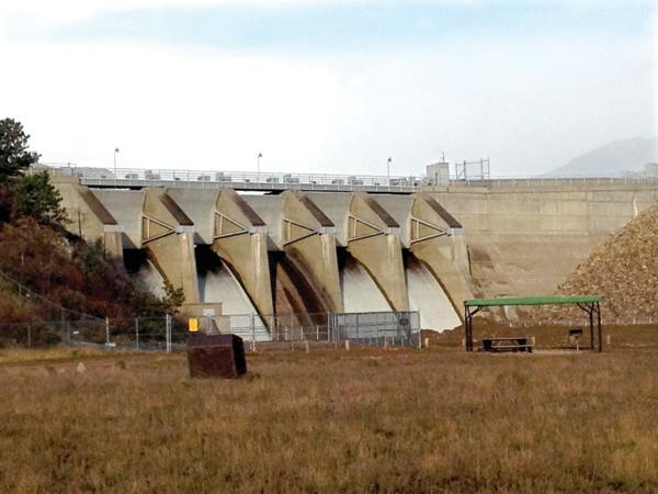 Olympus Dam in Estes Park