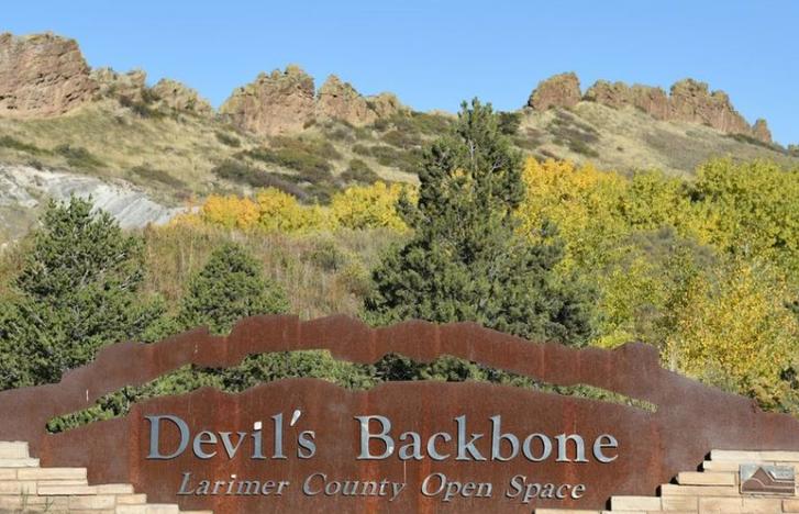 Devil's Backbone in Loveland Colorado