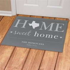 Give a Personalized Floor Mat for New Home Buyers