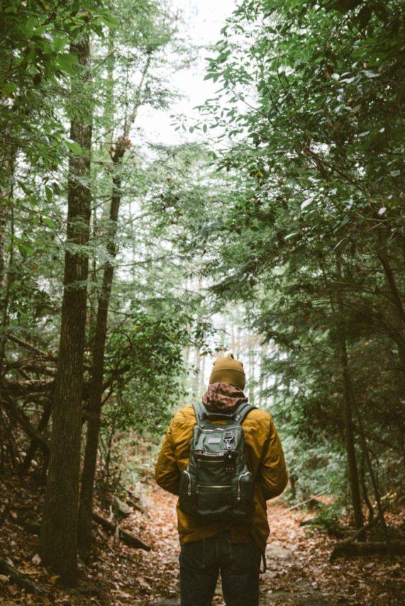 Hiking at Boyd Lake
