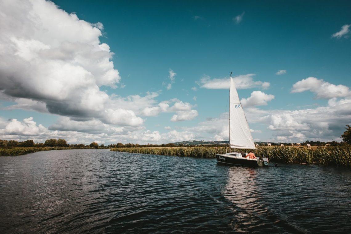 Sailboating on Loveland's Boyd Lake