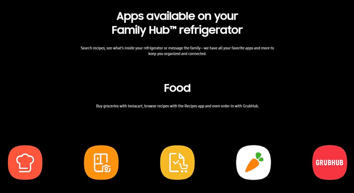 App for Smart Home Fridge