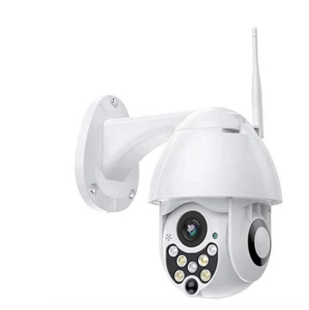 Home Security Devices with 3D Camera Pivot