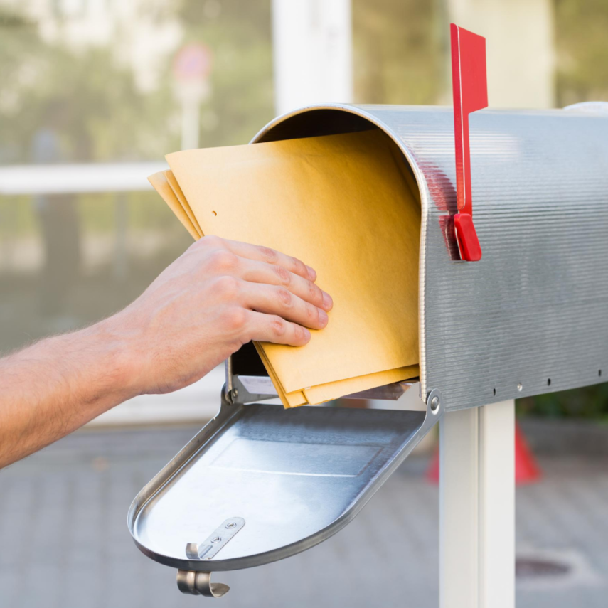 Don't forget to change your mailing address