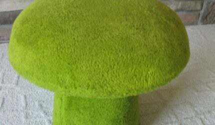 Plush Mushroom Chair for Your Living Room