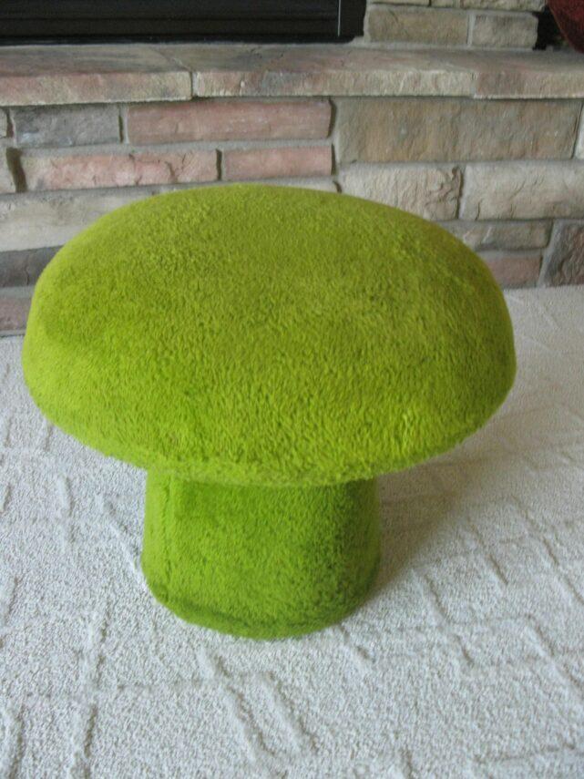 Plush Mushroom Chair for Your Living Room