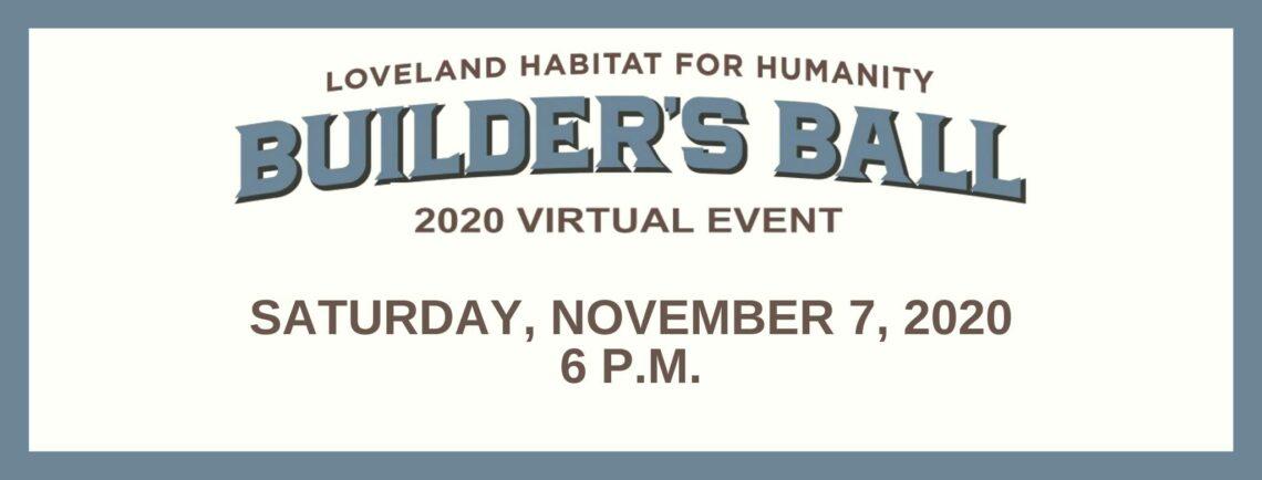 Annual Builder's Ball Fundraiser