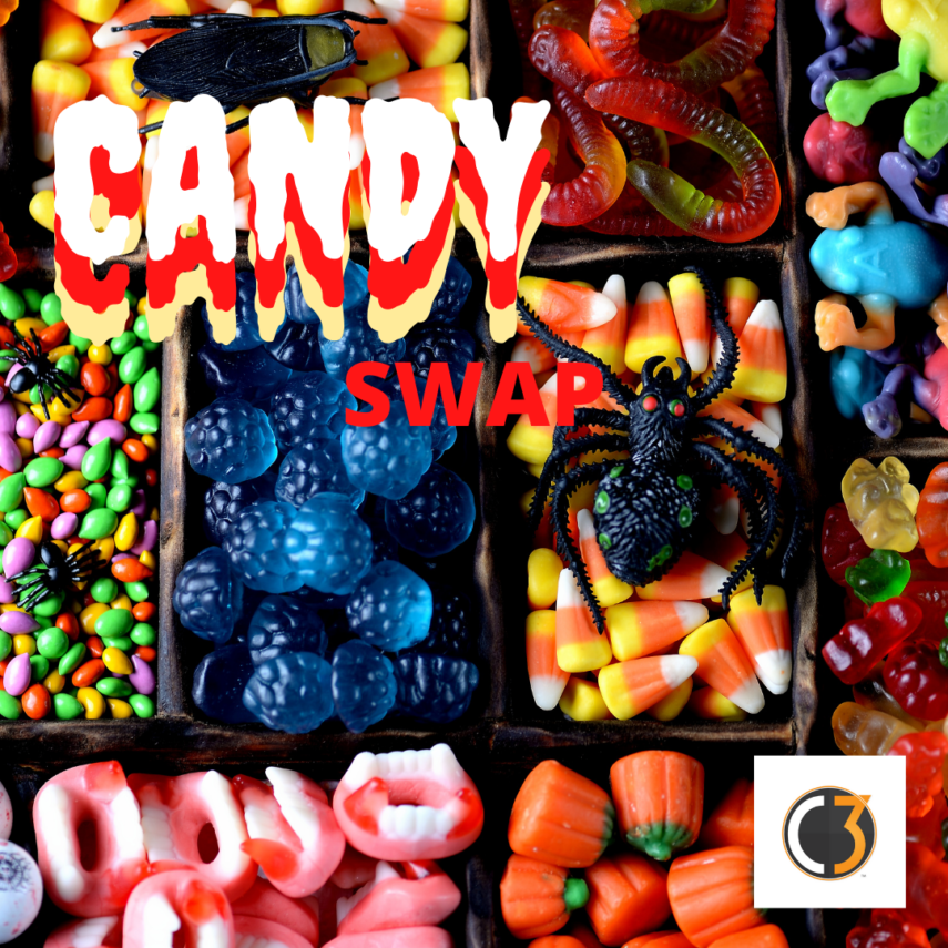 A CANDY SWAP is a good way to get rid of that unwanted candy