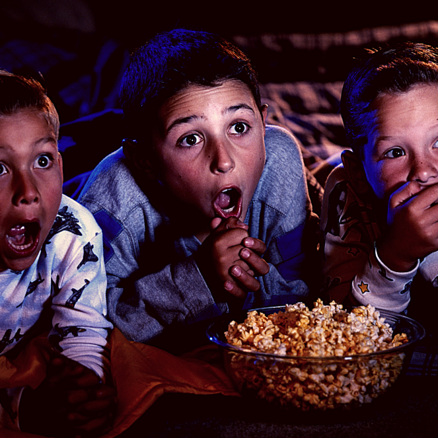 Watch a scary movie for Halloween