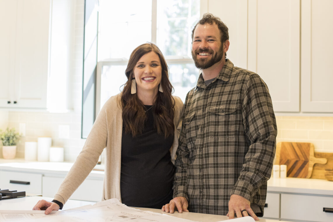 Jenny and Austin from Homespun Staging and Design
