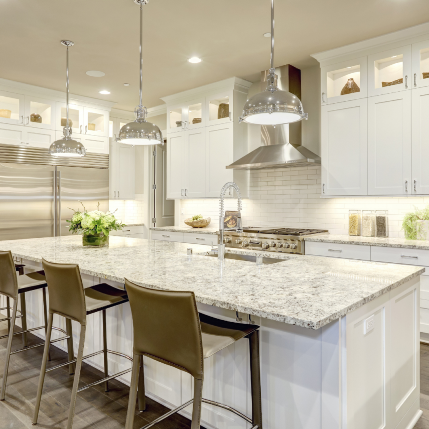 White Kitchens are Popular