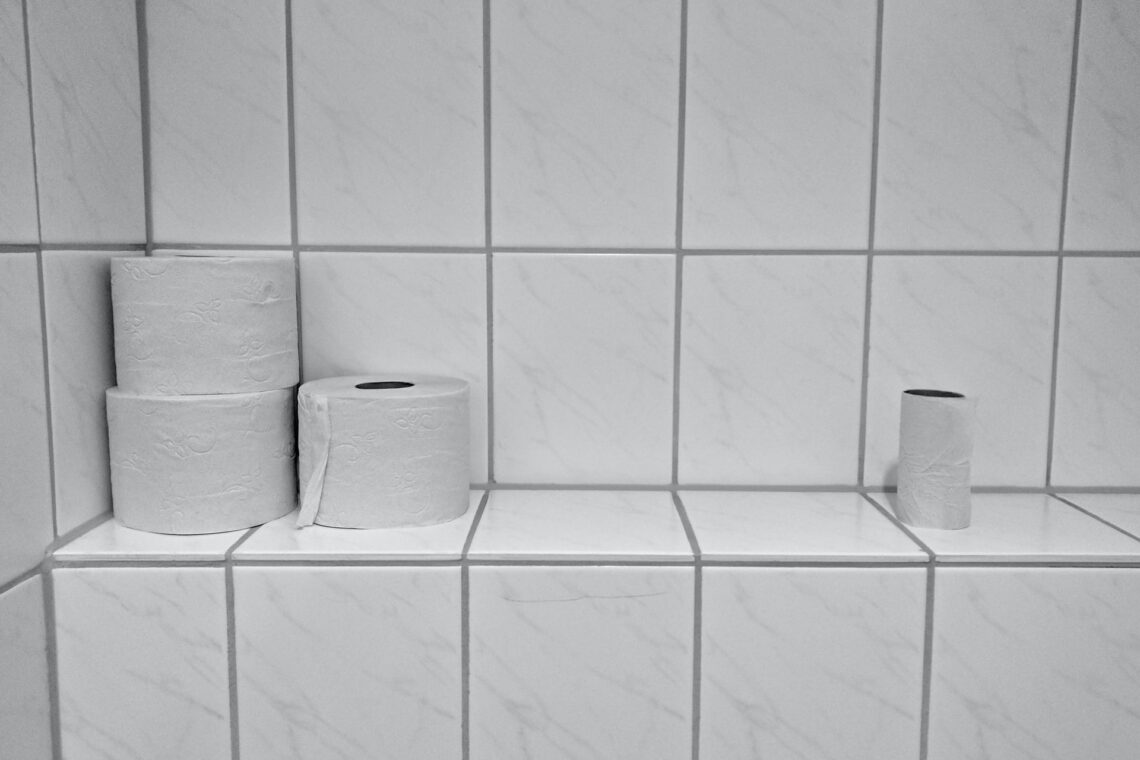 Toilet paper and paper products are a turn off for potential home buyers