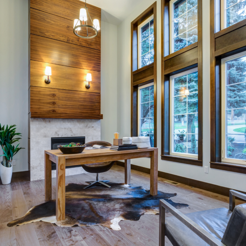 The Home Office Needs Natural Elements