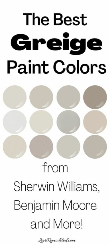 Greige is the Latest Color Swatch