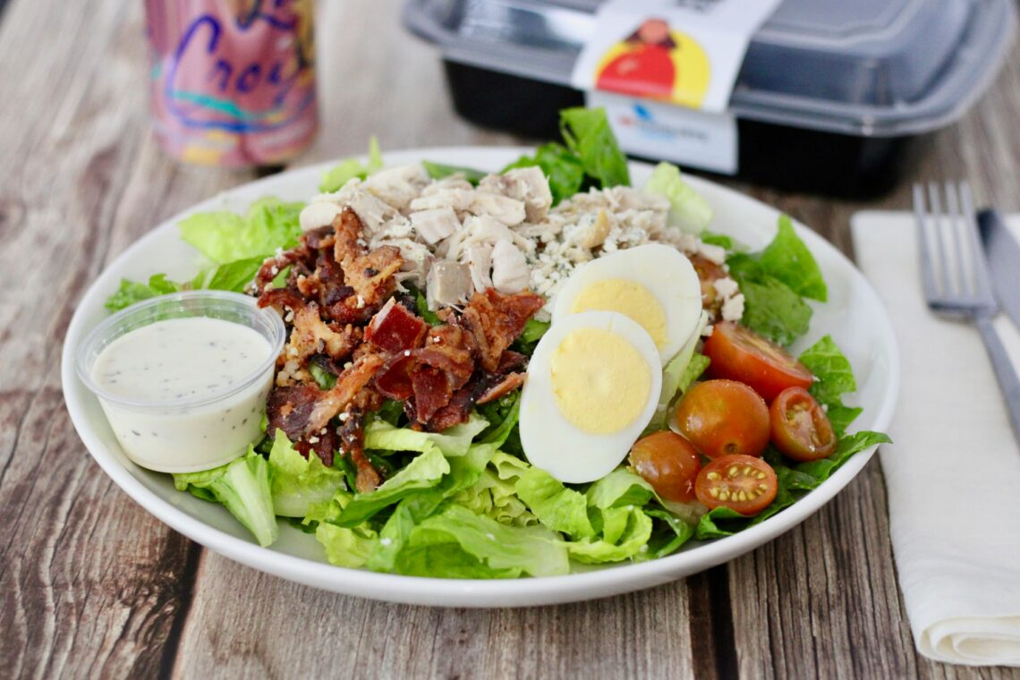 If you're looking for a good Cobb Salad, this is the place