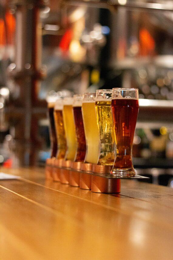 Dratz Brewery in Loveland Colorado has a Good Selection