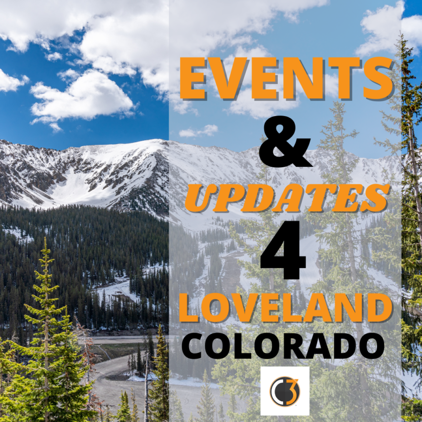 Events and updates for Loveland, Colorado