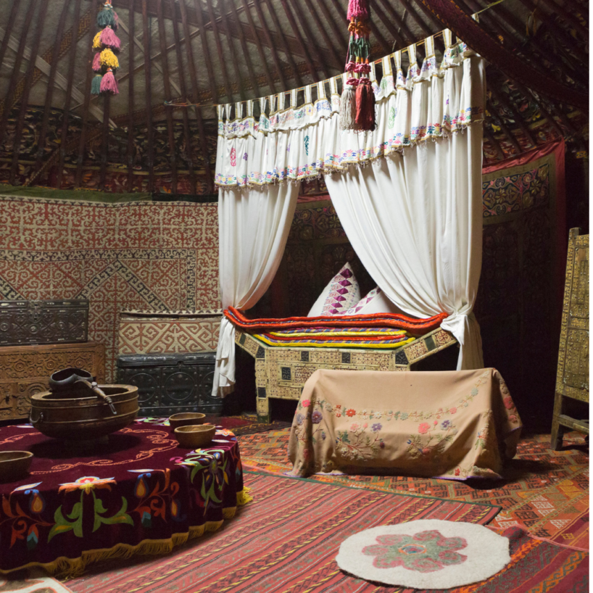 Northern Colorado Yurts are romantic ways to spend Valentine's Day