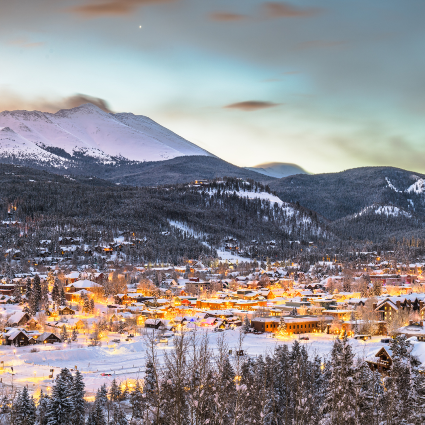 A Romantic Destination for Colorado and a Honeymoon Resort is what you will find at Breckenridge, Colorado