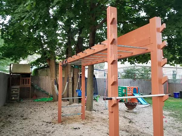 Ninja Backyard Warrior Course