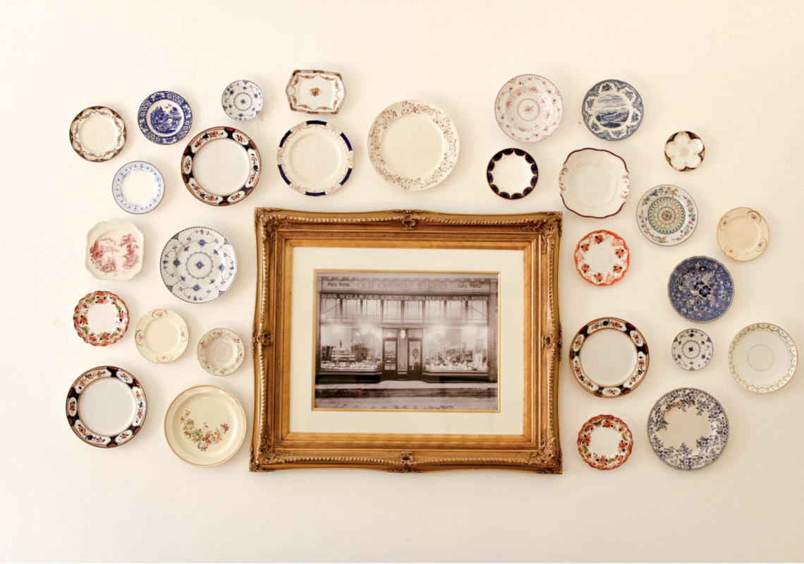 Antique Dishes are on the Fast Track to NOCO Shops