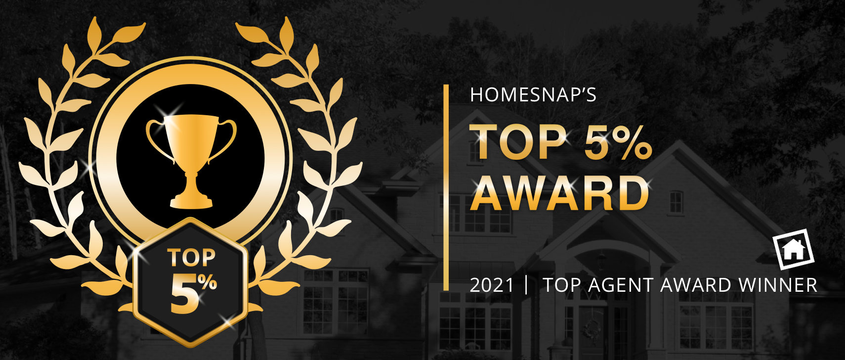 Homesnap Top 5 Percent Award