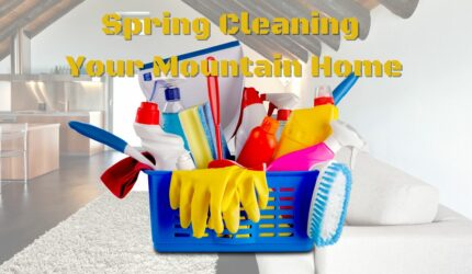 Spring Cleaning your Mountain Home